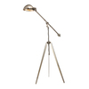 Westmore Lighting Guildhall 61-in Nickel Indoor Floor Lamp with Metal Shade