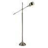 Westmore Lighting Caledonia 55.5-in Polished Nickel Indoor Floor Lamp with Metal Shade