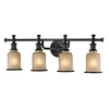 Westmore Lighting 4-Light Nicolette Bathroom Vanity Light