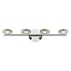 Westmore Lighting 4-Light Maelstrom Polished Chrome LED Bathroom Vanity Light