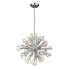 Westmore Lighting Gamma 20-in 15-Light Polished Chrome Crystal Standard Chandelier