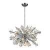 Westmore Lighting Gamma 26-in 19-Light Polished Chrome Crystal Standard Chandelier