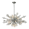 Westmore Lighting Gamma 36-in 24-Light Polished Chrome Crystal Standard Chandelier