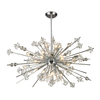Westmore Lighting Gamma 48-in 29-Light Polished Chrome Crystal Standard Chandelier
