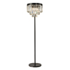 Westmore Lighting Zurich 62-in Oil Rubbed Bronze Crystal Indoor Floor Lamp