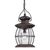 Westmore Lighting SutterS Mill 17-in Weathered Charcoal Outdoor Pendant Light
