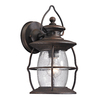Westmore Lighting Sutter's Mill 13-in H Medium Base (E-26) Weathered Charcoal Outdoor Wall Light