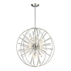 Westmore Lighting Goddard 32-in Polished Chrome Single Pendant