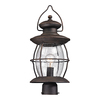 Westmore Lighting Sutter's Mill 21-in H Oil Rubbed Bronze Post Light