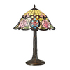 Westmore Lighting Staunton Abbey 22.00-in Dark Bronze Stained Glass Indoor Table Lamp with Tiffany-Style Shade