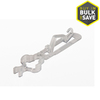 Commercial Christmas Hardware 75-Count Plastic Flip Clips