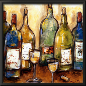 art.com 28-in W x 28-in H Food and Beverage Framed Art