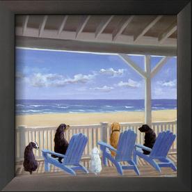 art.com 9-in W x 9-in H Animals Framed Art