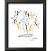 art.com 12-in W x 15-in H Figurative Framed Art