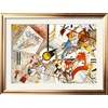 art.com 41-in W x 31-in H Abstract Framed Art