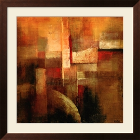 "art.com 34""W x 34""H Abstract Framed Wall Art"