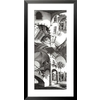 art.com 17-in W x 34-in H Architecture Framed Wall Art