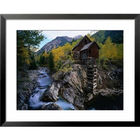 art.com 24&#034;W x 30&#034;H Landscapes Framed Art