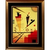 art.com 28-in W x 37-in H Abstract Framed Wall Art