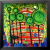 art.com 17-in W x 17-in H Abstract Framed Art