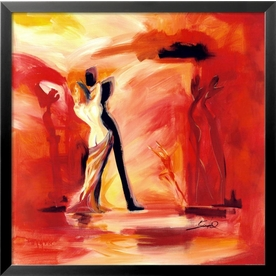 art.com 29-in W x 29-in H Figurative Framed Wall Art