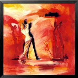 art.com 29-in W x 29-in H Figurative Framed Art