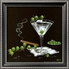 art.com 14-in W x 14-in H Food and Beverage Framed Art