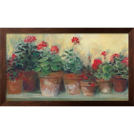 art.com 17-in W x 30-in H Floral and Botanical Framed Wall Art