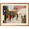 art.com 39-in W x 31-in H Travel Framed Wall Art