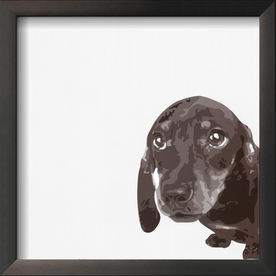 art.com 13-in W x 13-in H Animals Framed Art