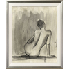 art.com 19.5-in W x 23.5-in H Figurative Framed Wall Art