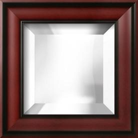 """art.com 15""""H x 15""""W Square Framed Mirror"""