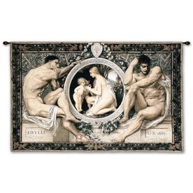 """art.com 44""""W x 44""""H People Wall Tapestries Wall Art"""