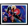 art.com 33.5-in W x 25.5-in H Abstract Framed Art