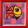 art.com 9.25-in W x 9.25-in H Animals Framed Art