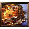 art.com 45.25-in W x 38.5-in H Landscapes Framed Art