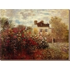 art.com 34-in W x 25-in H Floral and Botanical Canvas
