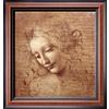 art.com 21-in W x 22-in H Figurative Canvas