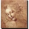 art.com 12-in W x 16-in H Figurative Canvas