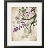 art.com 18.25-in W x 22-in H Floral and Botanical Framed Art