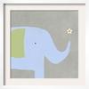 art.com 18.25-in W x 18.5-in H Animals Framed Art