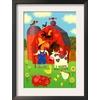 art.com 13.75-in W x 18.25-in H Children's Art Framed Art