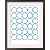art.com 15.75-in W x 19.75-in H Abstract Framed Art