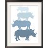 art.com 15.75-in W x 19.75-in H Animals Framed Art