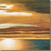 art.com 28-in W x 28-in H Landscapes Canvas