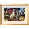 art.com 38.25-in W x 28.25-in H Landscapes Framed Art
