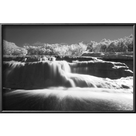 art.com 18.25-in W x 12.25-in H Places Framed Wall Art