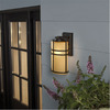 allen + roth Altabourne 12-1/4-in H Oil-Rubbed Bronze Outdoor Wall Light