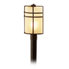 allen + roth Altabourne 17-1/4-in Oil-Rubbed Bronze Post Mount Light