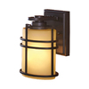 allen + roth Altabourne 8-in H Oil-Rubbed Bronze Outdoor Wall Light